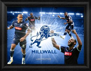 Liam Trotter Framed Player Montage Print