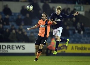 Sky Bet Championship - Millwall v Brighton and Hove Albion - The Den