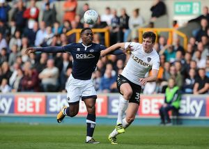 <b>Sky Bet Championship - Millwall v Leeds United - The Den</b><br>Selection of 3 items