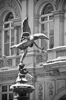 London, Piccadilly Circus, Eros Statue