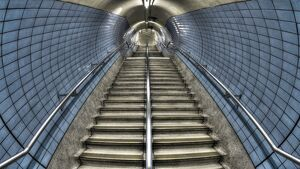 UK, England, London, Embankment Underground Station
