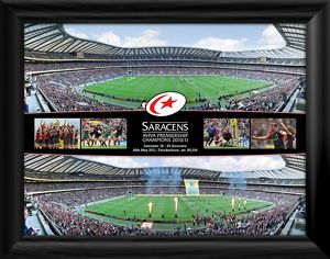 Aviva Premiership Final Panoramic Montage