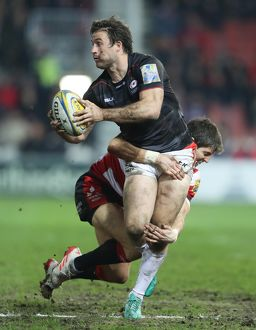 Aviva Premiership - Gloucester v Saracens - Kingsholm Stadium (Selection of 4 Items)