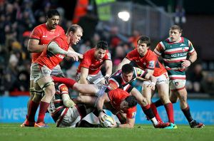 Aviva Premiership - Leicester Tigers v Saracens - Welford Road (Selection of 4 Items)