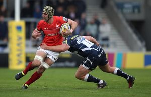 Aviva Premiership - Sale Sharks v Saracens - AJ Bell Stadium (Selection of 5 Items)