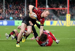 Aviva Premiership - Saracens v London Welsh - Allianz Arena