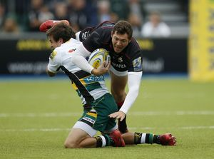 Aviva Premiership - Saracens v Northampton Saints - Allianz Park (Selection of 4 Items)