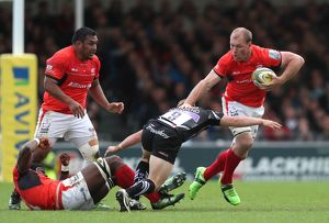 Aviva Premiership - Semi Final - Exeter Chiefs v Saracens - Sandy Park