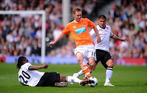 <b>03-04-2011 Fulham v Blackpool</b><br>Selection of 19 items