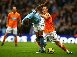 <b>01-01-2011 Manchester City v Blackpool</b><br>Selection of 14 items