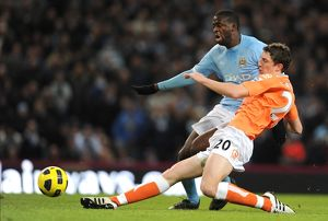 Barclays Premier League - Manchester City v Blackpool - City of Manchester Stadium