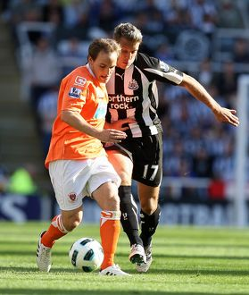 Barclays Premier League - Newcastle United v Blackpool - St James' Park
