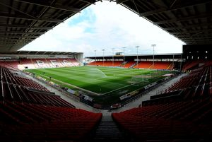 Bloomfield Road, home to Blackpool F.C. F.C.