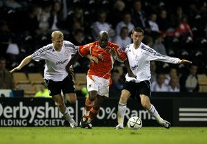 Carling Cup - Second Round - Derby County v Blackpool - Pride Park