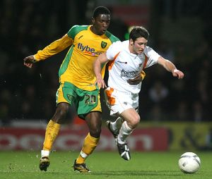 FA Cup - Fourth Round Replay - Norwich City v Blackpool - Carrow Road