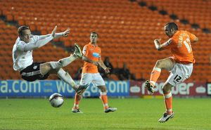 npower Football League Championship - Blackpool v Derby County - Bloomfield Road