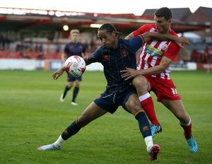 Pre Season Friendly - Accrington Stanley v Blackpool - Crown Ground