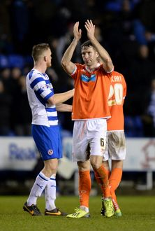 Sky Bet Championship - Reading v Blackpool - Madejski Stadium