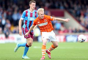 Sky Bet League One - Scunthorpe United v Blackpool - Glanford Park