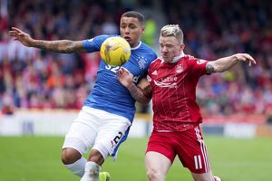 <b>Aberdeen 2-1 Rangers</b><br>Selection of 37 items