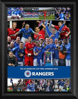 The Co-Operative Cup Final Winners 2010 Framed Montage Print