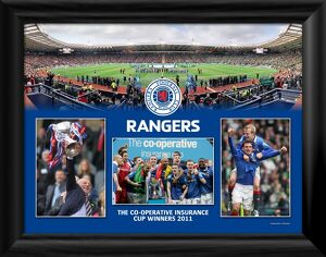 The Co-operative Insurance Cup Winners 2011 Framed Montage