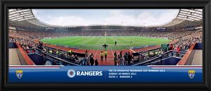 The Co-operative Insurance Cup Winners 2011 Framed Match Panoramic