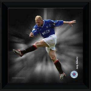 Jorg Albertz Framed Dynamic Action Print