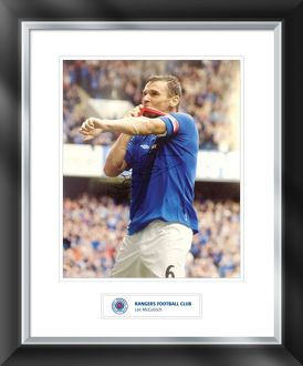 Lee McCulloch Framed Signed Print