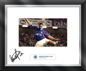 Lorenzo Amoruso signed and mounted print