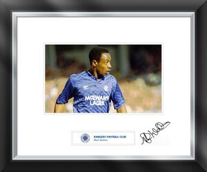 Mark Walters signed and mounted print
