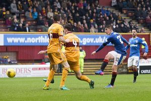 <b>Motherwell 0-2 Rangers</b><br>Selection of 52 items