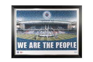 We are the people framed mezaic