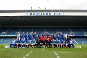 Rangers FC Team Photo 2007/08