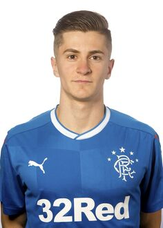 Rangers U20 Head Shots - The Rangers Football Centre