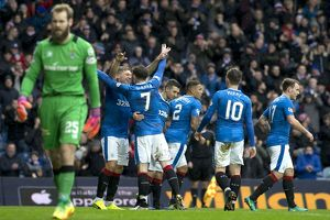<b>Rangers 1-0 Inverness CT</b><br>Selection of 12 items