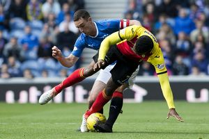 <b>Rangers 2-0 Partick Thistle</b><br>Selection of 13 items