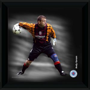 RNGR073 - 12x12' (305x305mm) Andy Goram Framed Dynamic Action Print