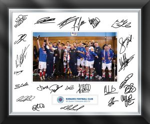 SFL 3 Champions Signed Framed Mounted Print