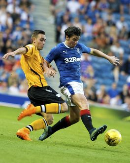<b>Rangers 2-0 Annan Athletic</b><br>Selection of 79 items