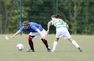 SOCCER - CELTIC V RANGERS LADIES - LENNOXTOWN