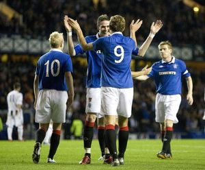 Soccer - CIS Insurance Cup - Thrid Round - Rangers v Dunfermline Athletic - Ibrox Stadium