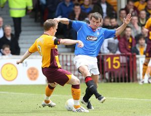 Soccer - Clydesdale Bank Premier League- Motherwell v Rangers- Fir Park