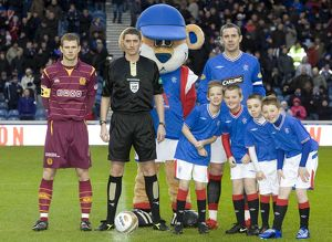 Soccer - Clydesdale Bank Premier League - Rangers v Motherwell - Ibrox Stadium