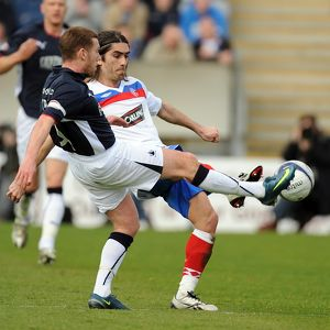 Soccer - Clydesdale Bank Scottish Premier League - Falkirk v Rangers - Falkirk Stadium