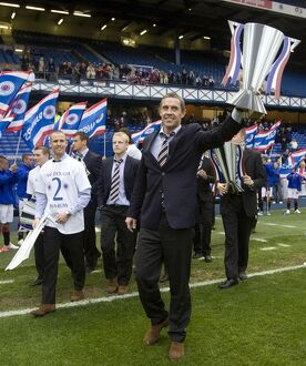 Soccer - Clydesdale Bank Scottish Premier League - Celebrations - Ibrox