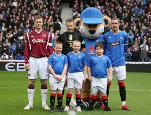 Soccer - Clydesdale Bank Scottish Premier League - Rangers v Heart of Midlothian - Ibrox
