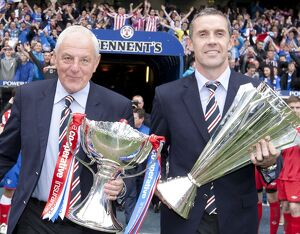 Soccer - Clydesdale Bank Scottish Premier League - Kilmarnock v Rangers - Rangers