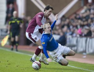 Soccer - Clydesdale Bank Scottish Premiership - Heart of Midlothian v Rangers - Tynecastle
