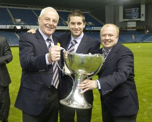 Soccer - The Co-operative Insurance Cup - Final - Celtic v Rangers - Ibrox Stadium